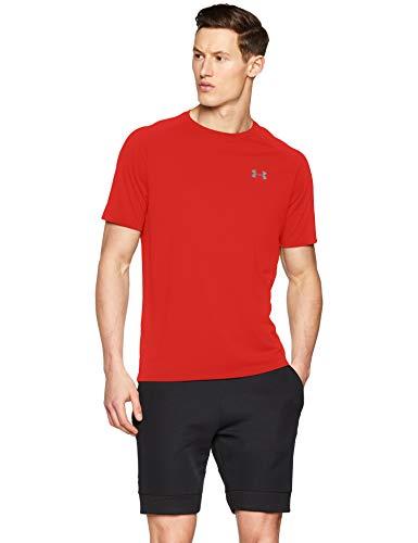 Under Armour Men's Tech 2.0 Short Sleeve T-Shirt, Red (600)/Graphite, ()