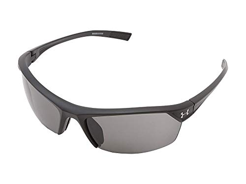 Under Armour Zone 2.0 Sunglasses Satin Black / Gray Lens