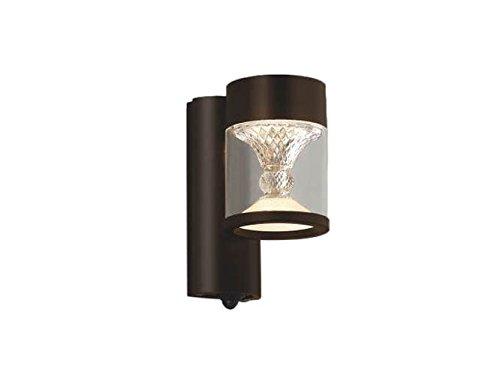 コイズミ照明 エクステリアライト TWIN LOOKS マルチタイプ 人感センサ付 ブラウン塗装 AU45494L B01G8GOTR4