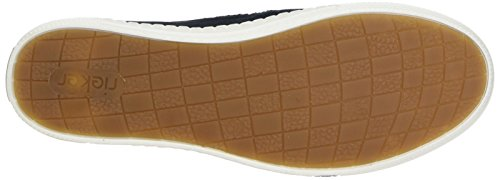 Rieker Women's M2754 Loafers, Brown Blue (Cayenne/Pazifik/Mogano 24)