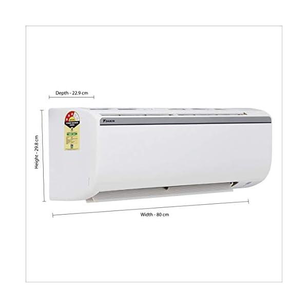 Daikin 1.5 Ton 3 Star Split AC (Alloy FTL50TV16W4 White)