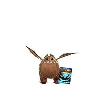 DreamWork How to Train Your Dragon 3 Meatlug Soft Toy-32cm, Multi-Colour, 32 cm: Toys & Games