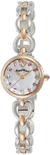 [エンジェルハート] 腕時計 ブライトハート ホワイトパール文字盤 スワロフスキー BH21RSW シルバー