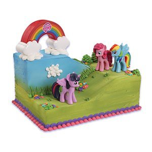 (My Little Pony Cake Decorating)