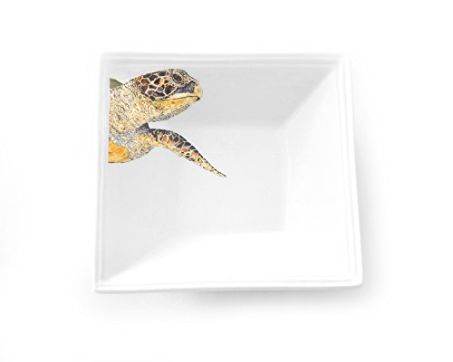 Kim Rody Creations Dinnerware Tidbit Dish Old Soul, 5'' Square