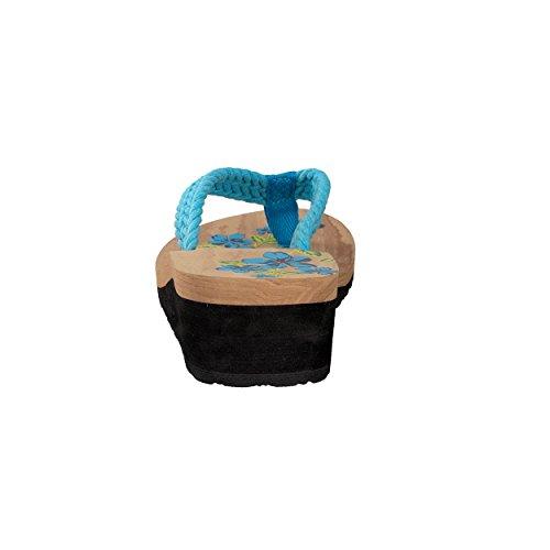 Brandseller, Tongs Femme Turquoise (turquoise)