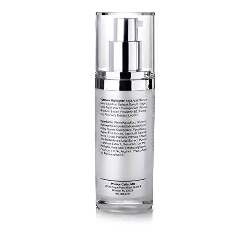 Amazon.com: GloxiniaLife by Dr. Calle Citrus Kojic Acid - Natural Skin Lightening, Non-Hydroquinone - For Hyperpigmentation & Melasma Treatment - Dark Spot ...