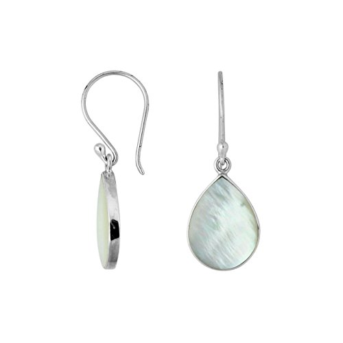 Sterling Silver Earring with Mother of Pearl AE-6209-MOP