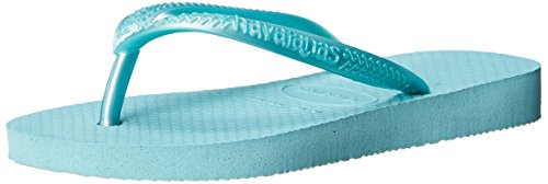 Havaianas Slim Thong Sandal (Toddler/Little Kid), Ice Blue, 23-24 BR (9 M US - Sale Havaiana