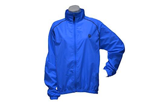 Mens Microlight Jacket - Canari Cyclewear Men's Microlyte Shell Jacket, Breakaway Blue, Medium