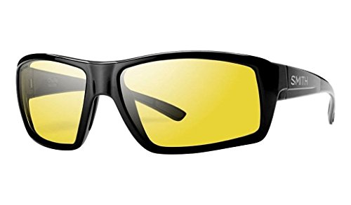 Smith Optics Challis Sunglasses, Black Frame, Polar Low Light Ignitor Techlite Glass - Sunglasses Light Low