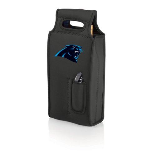 NFL Carolina Panthers Samba 2-Bottle Neoprene Wine Tote Bag