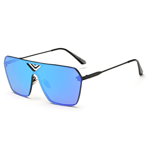 EYSHADE BSG800035C2 Explosion Models PC Lens Wind Models Sunglasses,Metal Frames Non-Polarizer (Mirror Force Platinum Rare compare prices)