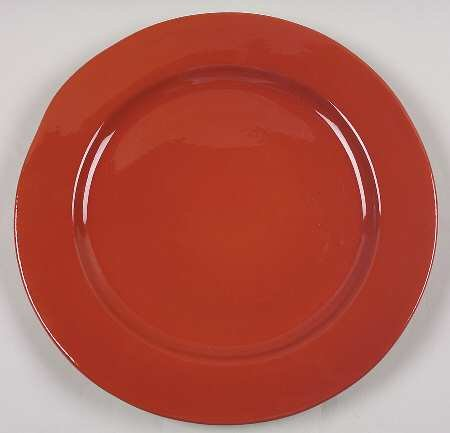 Vietri Paprika Cucina Fresca Oversized Dinner Plate Charg...