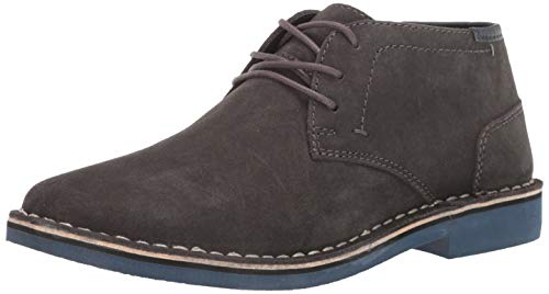 Kenneth Cole REACTION Men's Desert Sun-Rise Chukka Boot, Dark Grey, 11 M US
