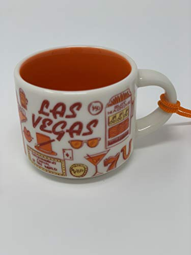 Las Vegas Starbucks Been There Series Ornament 2oz Cup ()