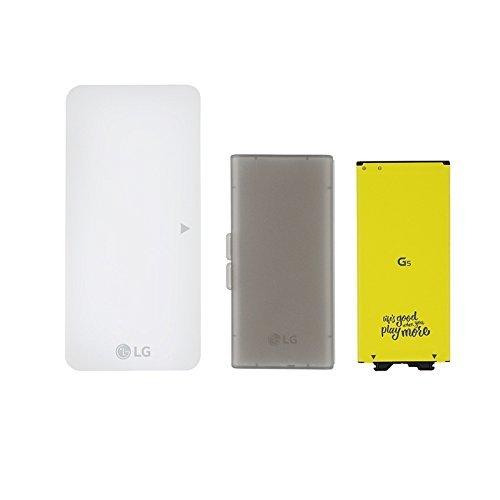 LG BCK-5100 Battery Charging Kit for LG G5 – White