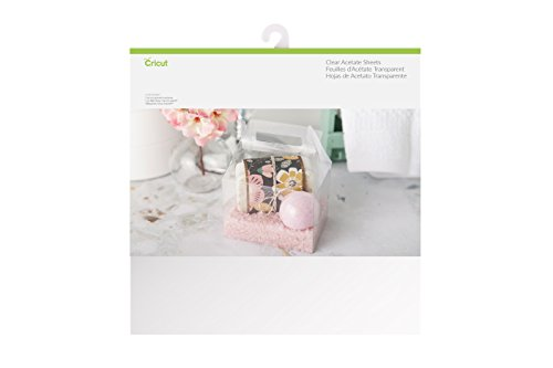 12 X 12 Acetate - Cricut 2003600 Acetate Sheets, 12 x 12, Assorted