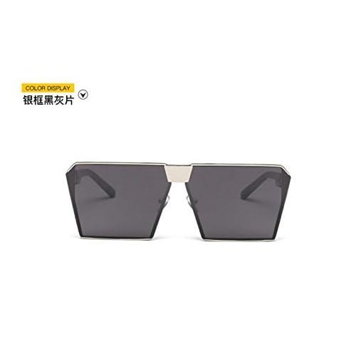 f20c3fe84e Sucastle Versión coreana cuadrado Europa y los Estados Unidos gafas de sol  ojo de gato moda