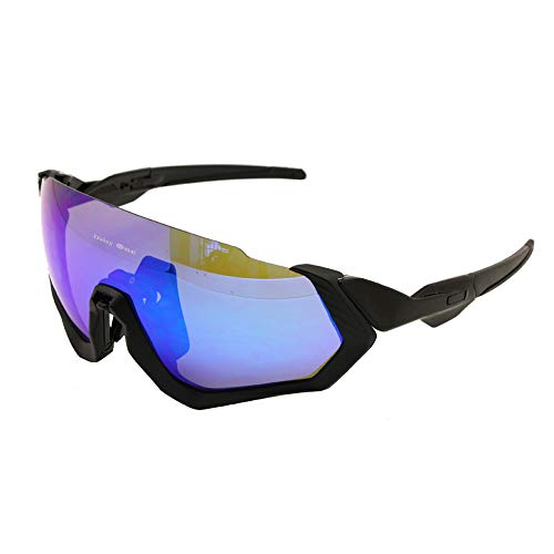 (Transition Polarized Cycling Goggles 3 Lens Kit UV400 Bicycle Sunglasses Mountain Bike MTB Outdoor Sports Glasses)