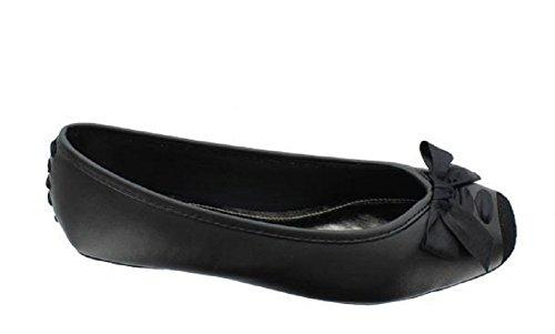 Pierre Dumas Mujeres Ballet Moni Flat Zapatos Black