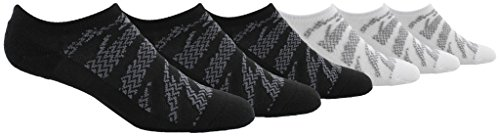 adidas Kids - Boys/Girls Tiger Style Cushioned No Show Socks (6-Pair)