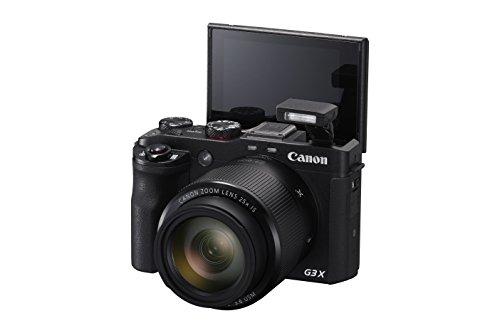 Canon PowerShot G3 X Digital Camera w/ 1-Inch Sensor and 25x Optical Zoom – Wi-Fi & NFC Enabled (Black)