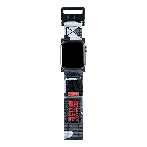 Custom Watch Straps - UAG Compatible Apple Watch Band 44mm 42mm, Series 4/3/2/1, Active Midnight Camo by URBAN ARMOR GEAR