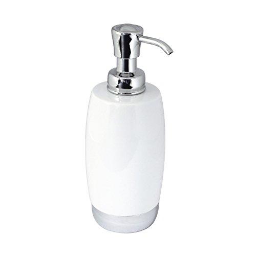 MODONA PORCELAIN Soap Dispenser - CHROME SS304 BASE - Arora / Flora Series