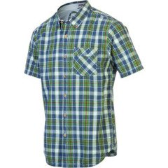 Gramicci Men's Tuskegee Madras Shirt, Willow Green, X-Large
