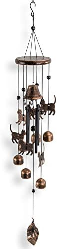patio, lawn, garden, outdoor décor,  chimes 5 image Dawhud Direct Cats Outdoor Garden Decor Wind Chime promotion