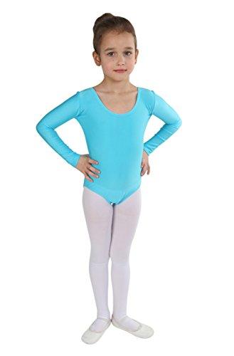 Combinaison Türkis Ballet Manches Longues Maillot À Annsfashion Body De  Fille p4TdpZ bbb8dc245a0