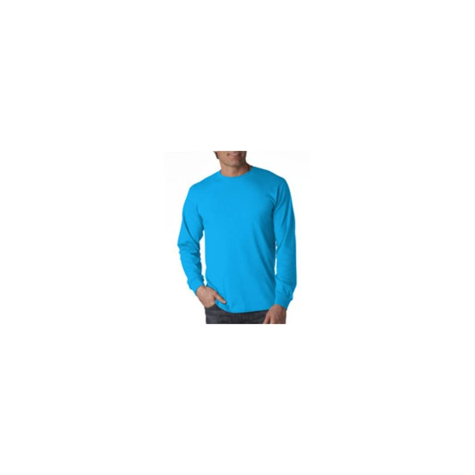 Fruit Of The Loom Adult T Shirt Pacific Blue L