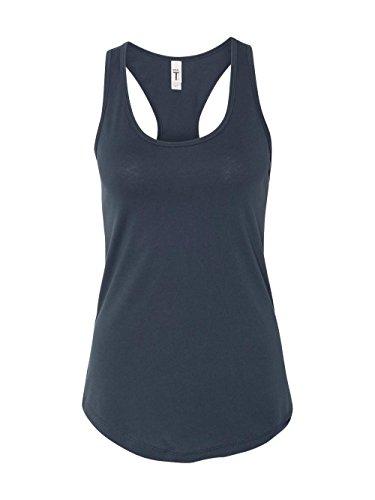 - Next Level Apparel Women's Tear-Away Tank Top, Indigo, X-Large