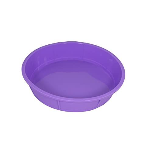 Bakerpan Premium Silicone Round Cake Pan, Round Mold, 10 Inches
