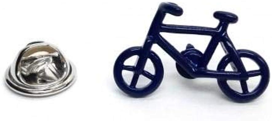Insignia de pin de solapa de bicicleta azul: Amazon.es: Joyería