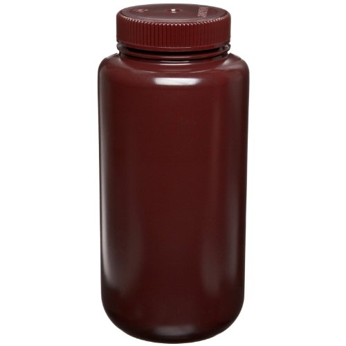 Thermo Scientific Nalgene 2106-0032 Amber Bottle, Wide-Mo...