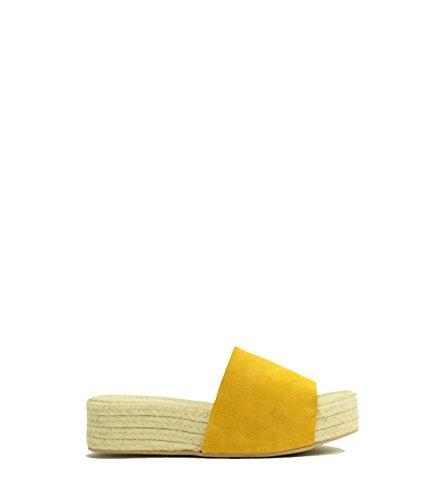 Jeffrey Campbell - Sandalias de vestir para mujer amarillo