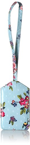 (Vera Bradley Iconic Luggage Tag, Signature Cotton, Water Bouquet)
