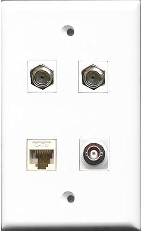 RiteAV – 2 puerto Cable Coaxial TV- Coaxial y 1 puerto BNC y 1 puerto