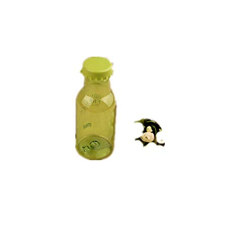 (Lanhui 1PC 350ml Portable Leak Proof Bike Sports Transparent Water Bottle (Medium, Azure))