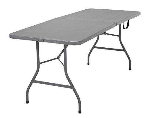 Cosco 14777GRY1 Signature Centerfold Table, Gray