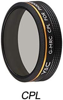 Gradual Gray Gradual Color Lens Filter for DJI Phantom 4 Pro 4A Drone Camera CPL Lens Filter Gradual Blue Orange Gray Red for P4P P4A