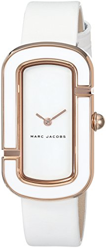 Marc Jacobs Women's MJ1567 The Jacobs Analog Display Japanese Quartz White Watch