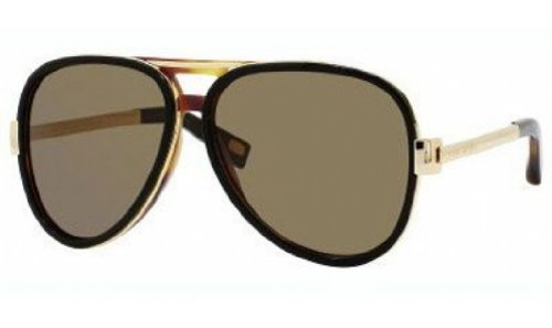 Marc Jacobs Sunglasses - MJ364 / Frame: Black Havana Lens: Brown
