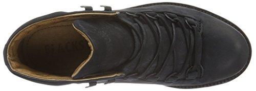 Blackstone Mw76, Zapatillas de Estar por Casa para Mujer Negro - negro