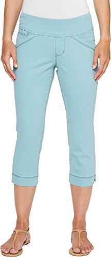 Womens Nils Jean Pants - Jag Jeans Petite Women's Petite Marion Pull-On Crop In Bay Twill Nile Pants