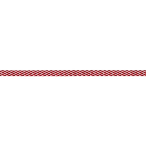 - May Arts Twill Chevron Stripes, 0.25-Inch by 50-Yard, Red