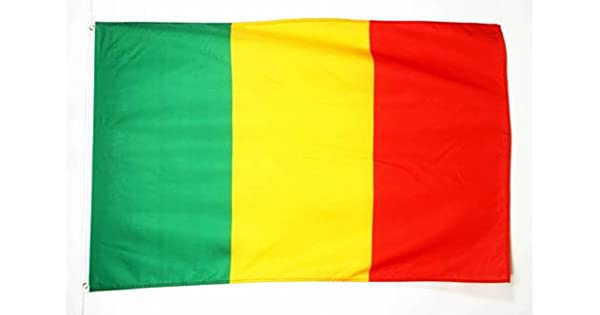 Amazon.com: Bandera de Mali 3 x 5 – Malian 3 x 5 ft – 35.4 ...