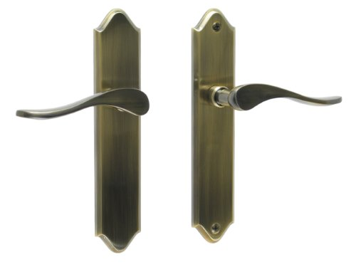 Riviera by FPL- Solid Brass Full Dummy Lever Set, Antique Brass (Full Inactive Set)